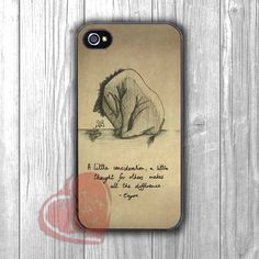 A Little Consideration - z13, Eyore, Winnie The Pooh, Piglet, Quote, Vintage