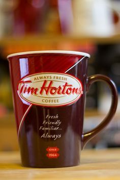 Tim Hortons Special Mug Coffee Drinks, Coffee Cups, Tea Cups, Grimm, Tim Hortons Coffee, Canadian Things, Coffee And Donuts, Free To Use Images, Lunch To Go