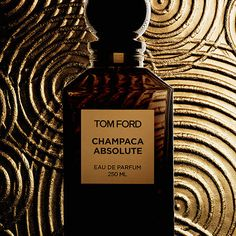 TOM FORD - Champaca Absolute | The rare and expensive champaca blossom must be gathered by the thousands to produce a single bottle of fragrance. This floral oriental composition has a precious, white-flower heart given intriguing dimension through layers of tokajii wine, cognac, vanilla bean, amber, and sandalwood.  #sephora