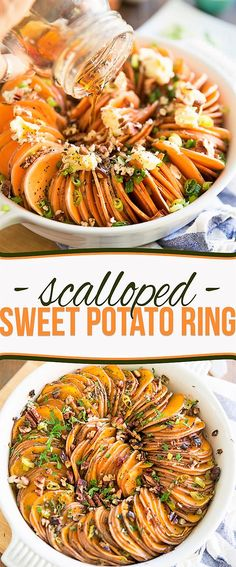 Scalloped Sweet Potato Ring