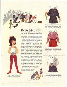 종이인형 베시맥콜(1961) : 네이버 블로그