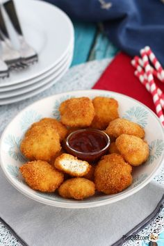 Homemade chicken nuggets, Ptitchef recipe – Famous Last Words Cooking Recipes For Dinner, Easy Cooking, Healthy Cooking, Cooking Food, Mcdonalds, Homemade Chicken Nuggets, Kinds Of Salad, French Food, Kids Meals