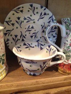 Emma Bridgewater SPRIG & SPOT cup & saucer