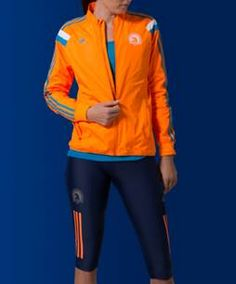 The official jackets for the 2014 Boston Marathon have been unveiled by adidas. A portion of the proceeds will be donated to The One Fund Boston. Very cool.