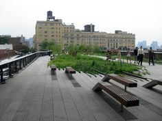 The Highline Park, NYC. One of my favorite places in the city