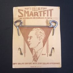 Vintage Men's Early Collar Stay for Soft Collars. by BriarVintage, $20.00