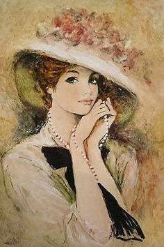 Portrait ~ Portré Creator, Bernard Charoy (1931-) painter artist