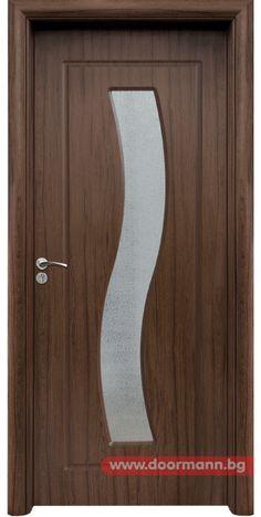 Интериорна врата - Код 066, Цвят Орех