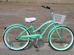 beach cruiser with basket!