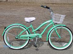 beach cruiser with basket!
