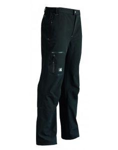 Softshellhose für Männer: Diese Trekkinghose aus elastischem Softshell-Material bietet eine sehr gute Bewegungsfreiheit.