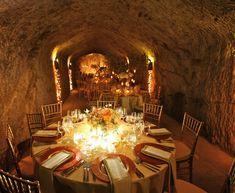 Romantic Calistoga Wedding With Wine Cave Reception — Marilyn Ambra Party Consultants Winery Wedding Invitations, La Tavola Linen, California Wedding, Wedding Reception, Wedding Inspiration, Romantic, Table Decorations, Elegant, Instagram