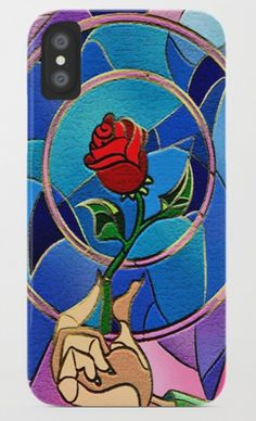 Flower of love iPhone 4, 5, 6, 7, 8, X Case @pointsalestore @society6Threesecond #iphone #case #cover #stainedglass #decoration #rose #beauty #beautiful #colorfull #beast #classic #retro #vintage #old #tale #story #movie #TVseries #cartoon #anime #manga