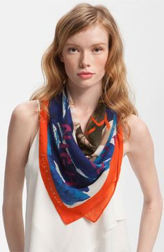 Juicy Couture 'Surf All Day, Cruise All Night' Silk Scarf