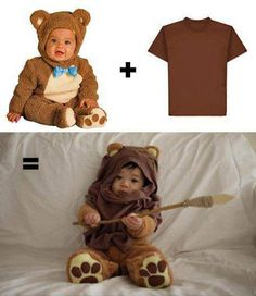 DYI Ewok toddler :D