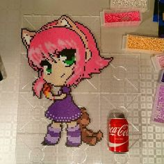 Annie - League of Legends hama beads by skoogsparlan