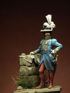Murat alla Battaglia della Moskova - 1812 - Virtual Museum of Historical Miniatures Etat Major, Virtual Museum, French Army, Napoleonic Wars, Military Fashion, Vignettes, Marie, Miniatures, Nude