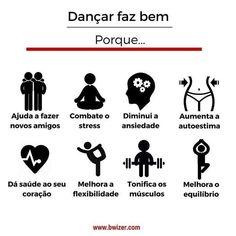 Dançar faz bem porque
