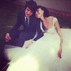 Lights and Beau Bokan got married