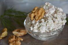 Russian feta walnut dip