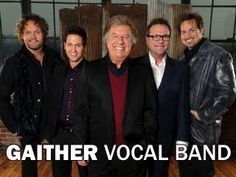 Gaither Vocal Band -- this is my very favorite gospel group.  Their voices blend so well together.  Can't get enough of their music!