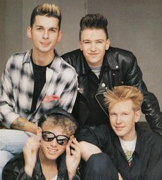 """Depeche Mode / """"People are people"""", """"Everything counts"""" Martin Gore, Dave Gahan, Sound Of Music, Music Is Life, Great Bands, Cool Bands, Alan Wilder, Music Promotion, 80s Music"""