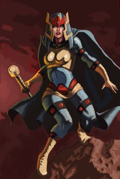 Big Barda by nbashowtimeonnbc Dc Comics Girls, Dc Comics Art, Marvel Dc Comics, Bat Sketch, Dc Superhero Girl, Superhero Design, Female Furies, Big Barda, Jack Kirby Art