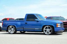 It's a little bit like the truck I bought with my own money that I earned working for Crowder Gulf. Guess they had to flatten my tires to put their cameras in it. Chevrolet Silverado, Chevy Stepside, Silverado Truck, Chevy Pickups, Chevrolet Trucks, Silverado 1500, Gmc Trucks, Custom Chevy Trucks, Chevy Pickup Trucks