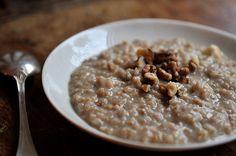 Overnight Miso Porridge  | Calling all conscious foodies @ foodiehaven.com