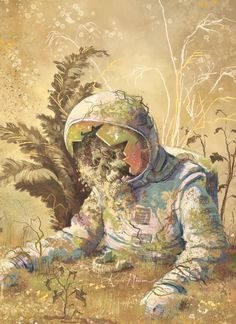 Planted Astronaut (Borne) by Kayla Harren (gulfcoastmag.org) submitted by Belledame-sans-Serif to /r/ImaginaryFlora 0 comments original - Creative #Arts - Amateur Artists - #Drawings and Pencil Sketches - Oil and Watercolor #Paintings - Abstract Surreal and Fantasy Digital Arts - Psychedelic Illustrations - Imaginary Worlds Architecture Monsters Animals Technology Characters and Landscapes - HD #Wallpapers
