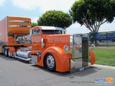custom 18 wheeler trucks | Auction-Custom-PeterBilt.jpg custom peterbilt, 18 wheelers, trucks