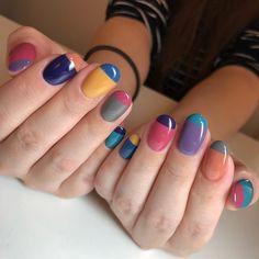 Simple Nail Art Designs That You Can Do Yourself – Your Beautiful Nails Minimalist Nails, Nail Swag, Fancy Nails, Trendy Nails, Lilac Nails, Nagellack Design, Cute Nail Art, Nagel Gel, Perfect Nails
