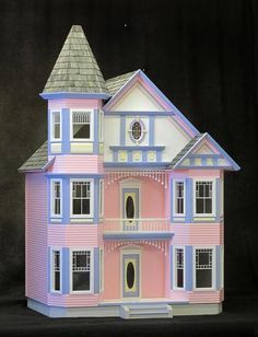 80 Best D7 Painted Lady Dollhouses Images In 2019