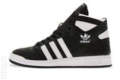 adidas Originals Decade OG Mid Black / Sunshine Running White