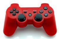 Trådløs SIXAXIS controller til PS3. Rød.