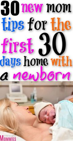 Mar 2020 - New mom tips right after bringing home baby from the hospital. How to survive the first 30 days home with newborn baby. 30 ips for first time moms to get through the first 30 days home with baby. Postpartum tips for new moms. Newborn Baby Tips, Newborn Care, Newborn Babies, Gentle Parenting, Parenting Hacks, Baby Showers Juegos, Breastfeeding Classes, First Pregnancy, Pregnancy Tips