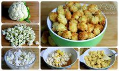 Nuggets de Coliflor receta de snack saludable | La Cocina de Gisele