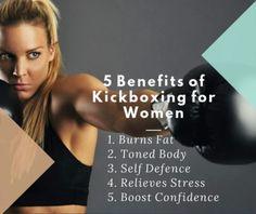 5 benefits of kickboxing for women                              …