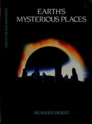 Cover of: Earth's Mysterious Places by Reader's Digest Association
