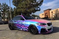 image of BMW M235i Rainbow Chrome 3 750x500