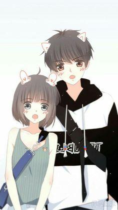 Love Never Fails Manga Cute Chibi Couple, Cute Couple Art, Anime Love Couple, Manga Couple, Anime Chibi, Manga Anime, Fanarts Anime, Anime Couples Drawings, Anime Couples Manga