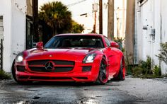 Mercedes SLS Amg Free HD Wallpaper