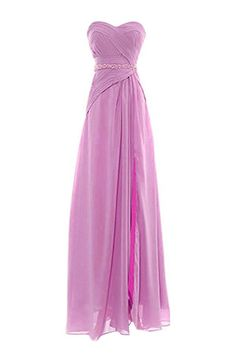Snowskite Womens Sweetheart Beading Formal Chiffon Bridesmaid Evening Dress ** For more information, visit now : Bridesmaid Dresses
