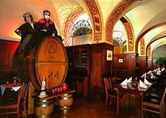 Auerbachs Keller. The second oldest restaurant in Leipzig, it used to be a wine bar in the 16th century. I have read about this place in Faust by Goethe. #Travel #Places #History #Germany #Faust #Goethe