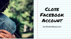 How to Block or Close Or Cancel A Facebook Account temporarily Or permanently
