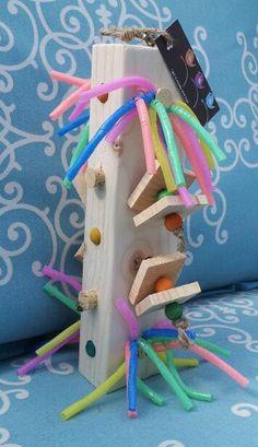 Tara's Toy Bird Toy by Igotawoodybirdtoys on Etsy, $20.00