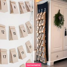 Idea: calendar gifts for Christmas