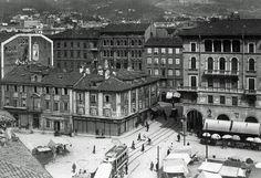 #Trieste, piazza Goldoni 1920 via Pierpaolo Saccari
