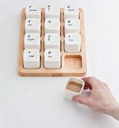 Keyboard Coffee Cups!