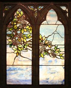 John Lafarge - Spring - stained glass window (circa 1896) Hunter Museum